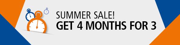 GMP Compliance Adviser Summer Sale: Get 4 months for 3